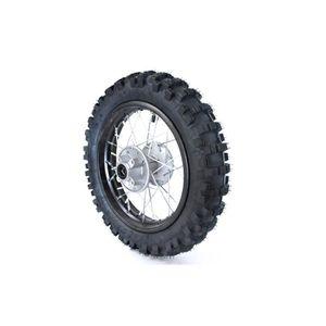"Roue Complète 17 /"" devant Course Axe Ø15mm Dirtbike Pitbike Mini Moto Crossbike"