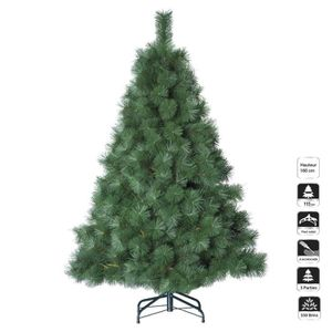 sapin de noel artificiel 180 cm achat vente sapin de noel artificiel 180 cm pas cher cdiscount. Black Bedroom Furniture Sets. Home Design Ideas