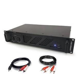 AMPLI PUISSANCE Amplificateur de sonorisation - 2 x 800W - Ibiza S