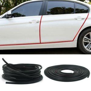 Lin XH Baguettes de porte style voiture bande de garniture en carbone bande de protection du seuil de chargement