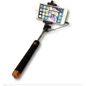 PERCHE - CANNE SELFIE Perche Selfie à câble doré