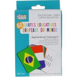 CARTES DE JEU Jeux 2 Momes Cartes Educatives Pays et Drapeaux (2