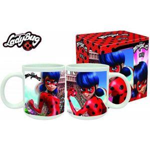 BOL LadyBug Miraculous Tasse-Mug en céramique 9x8