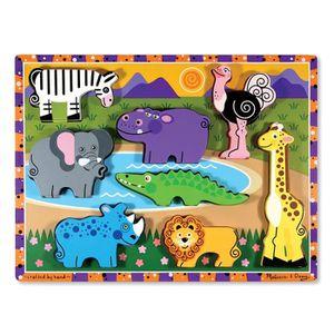PUZZLE Melissa & Doug - 13722 - Puzzle À Grosses Pièces E