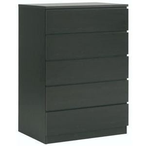 commode noir achat vente commode noir pas cher cdiscount page 2. Black Bedroom Furniture Sets. Home Design Ideas