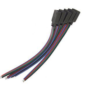 LED ET ACCESSOIRES Câble Connecteur Femelle 4 Broches RGB LED Bandes