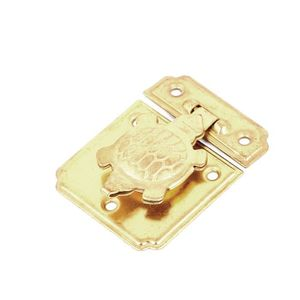 Sourcingmap a13071600ux0613 6,7 cm-pression magn/étique /à Double loquet de porte en plastique Noir