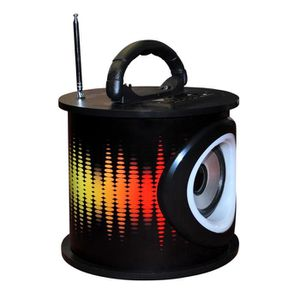 RADIO CD ENFANT TEKNOFUN Tour Speaker LED Electro