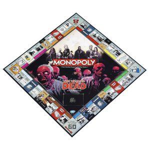 JEU SOCIÉTÉ - PLATEAU Jeu de société - The Walking Dead - Monopoly