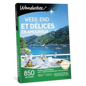 COFFRET SÉJOUR Wonderbox - Box cadeau pour noel - Week-end et dél