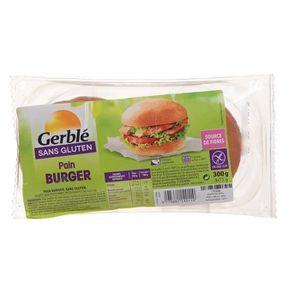 PAIN BURGER ET SPÉCIAUX GERBLE Pain Burger Sans Gluten - 300 g