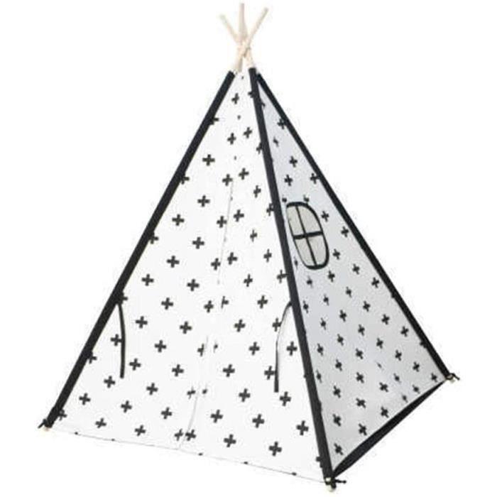 Tentes de jardin Tente Pour Enfants Les enfants en toile de coton Tipi indina Tente de jeu Playhouse for le jeu intérieu 20547