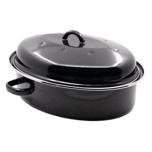 BEKA Daubière 32 cm Roasty Cook émail - Noir