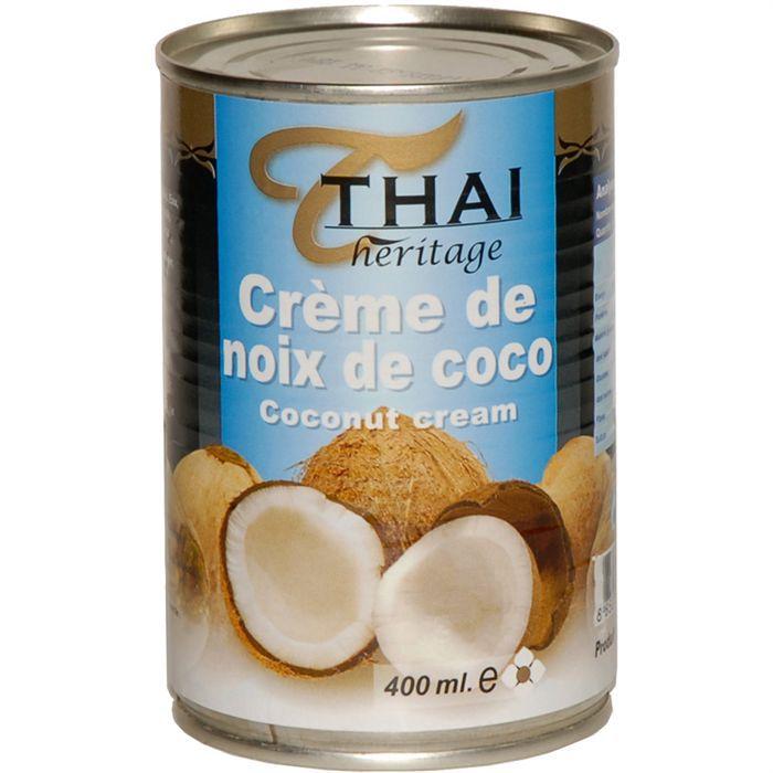 Crème de noix de coco
