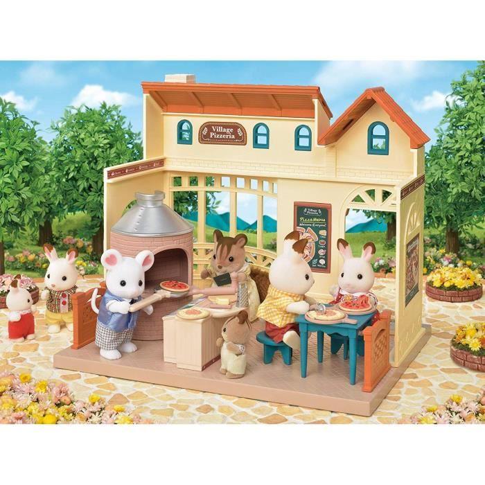 SYLVANIAN FAMILIES 5324 La Pizzeria Du Village - Les commerces