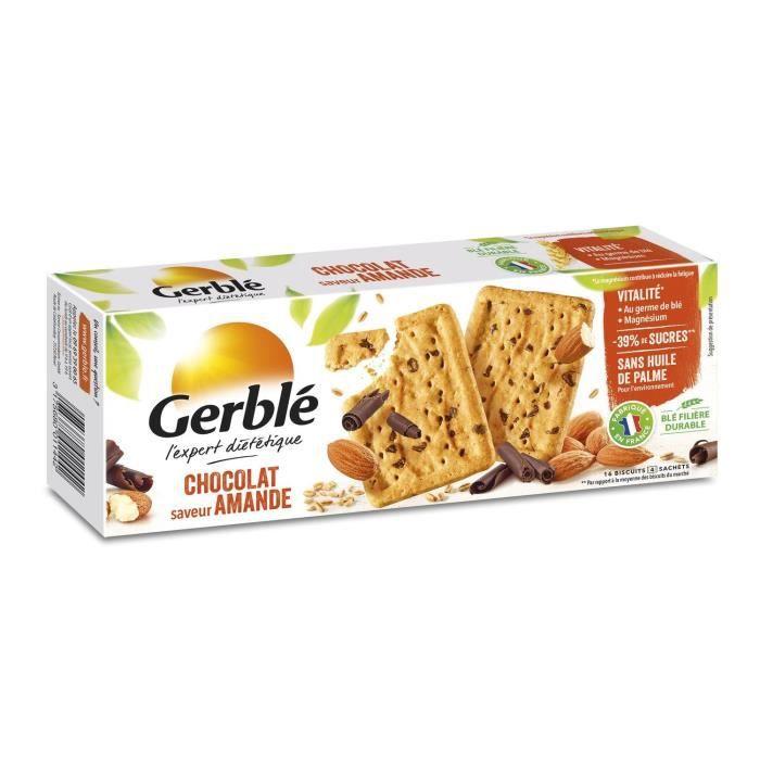 Biscuits choco amande 200 g Gerblé
