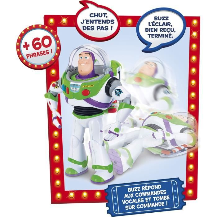 LANSAY Toy Story 4 Figurine Incroyable Buzz - Mixte - À partir de 4 ans