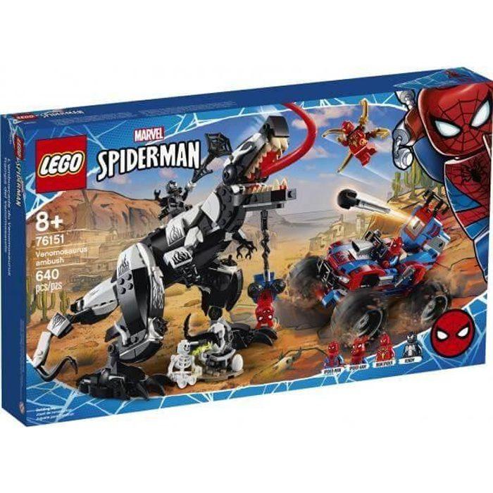 LEGO Marvel Super Heroes - 76151 Marvel Spider-Man L'embuscade du Venomsaurus