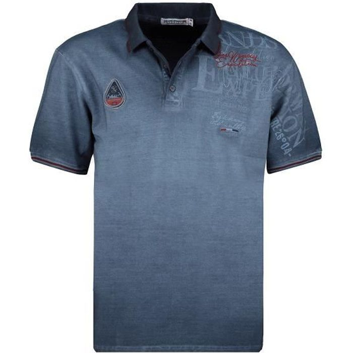 Polo Homme Geographical Norway Kadventure 415EO Marine