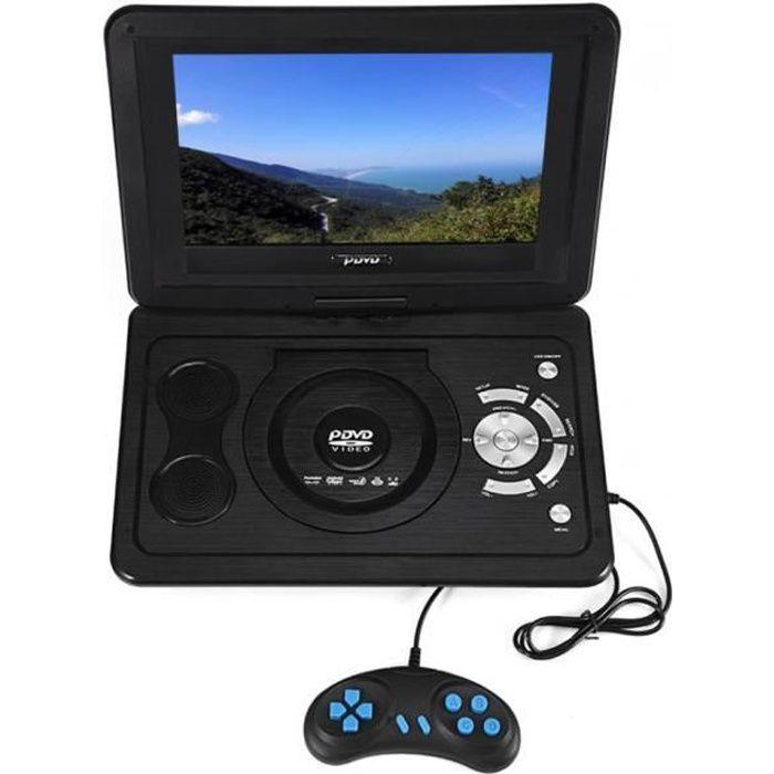 Lecteur DVD portable HD TV de 13,9 pouces Écran LCD 16: 9
