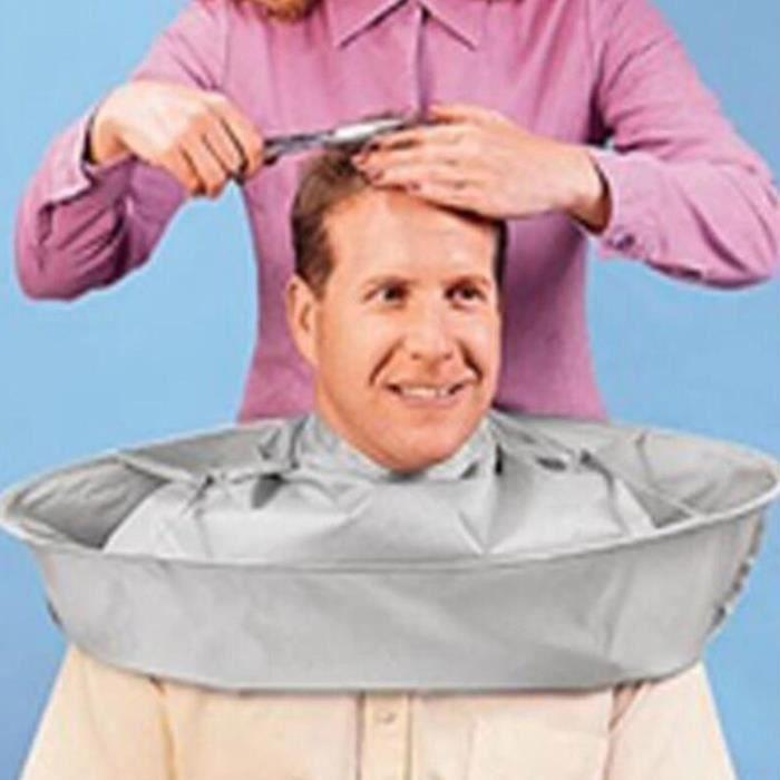 Coupe de Cheveux Cape Umbrella,Capes de Coupe Cheveux Couper Cape parapluie Cape Salon Barber Coiffeur Famille