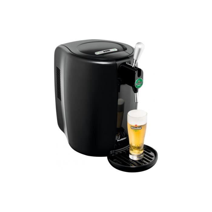 Seb Machine à bière BeerTender 70 W Noir avec 4 verres Série Eté 2019 - YY4144FD