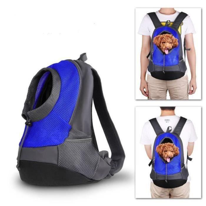 GWH-Pet porte-sac à dos Chien Sac de transport de Voyage Sac à dos de Ventral Poitrine Transporteur Sacs pour Petit Animaux