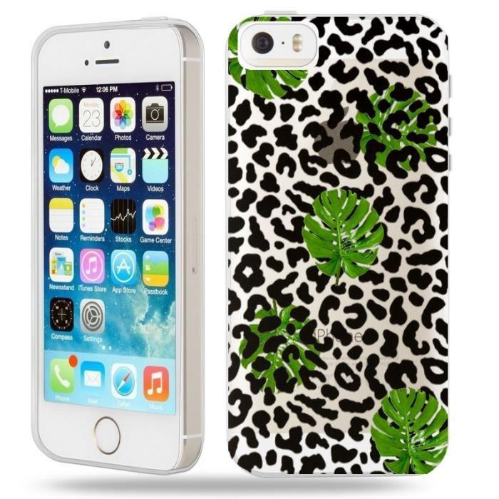 Coque iphone 5s leopard