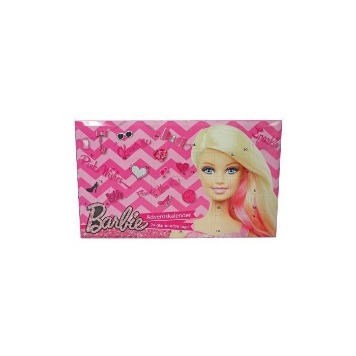 Calendrier Avent Barbie.Calendrier De L Avent Barbie 2015 Maquillage Cosmetique