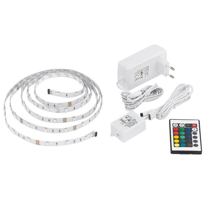 ruban led multicolore 3m