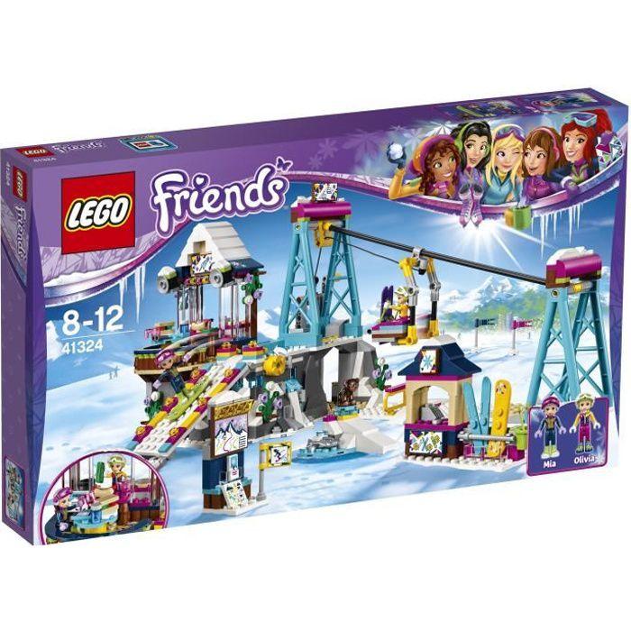 ASSEMBLAGE CONSTRUCTION LEGO® Friends 41324 La Station de Ski