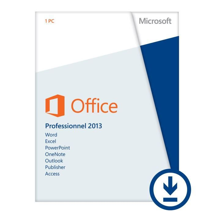 Microsoft office pro 2013 t l charger cdiscount - Office professional plus 2013 telecharger ...