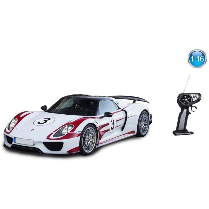 mondo voiture telecommand e porsche 918 racing 1 16 achat vente voiture camion cdiscount. Black Bedroom Furniture Sets. Home Design Ideas