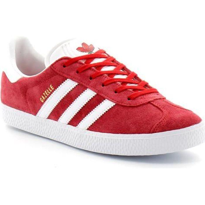 Adidas gazelle rouge - Cdiscount