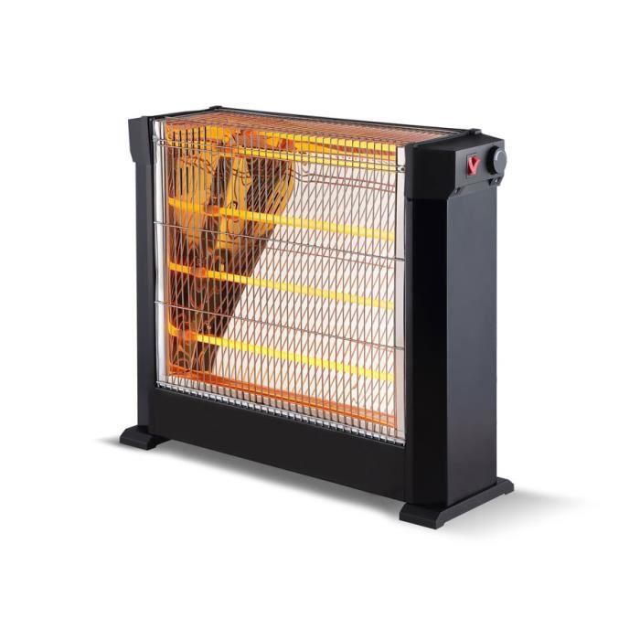 Chauffage dappoint /à tube infrarouge 2700 watts pratique et tr/ès puissant HEATY 2861 Purline