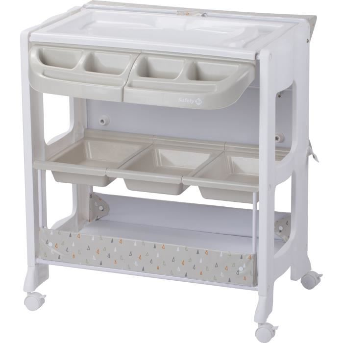 Photo de safety-1st-table-a-langer-dolphy-warm-grey