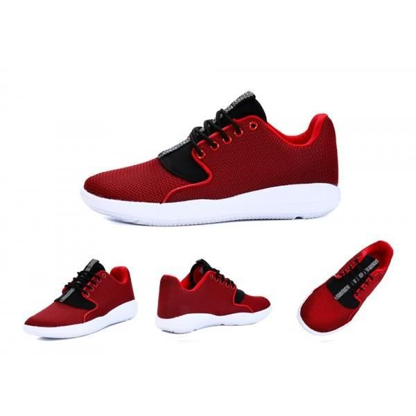 Chaussures hommes baskets rouges