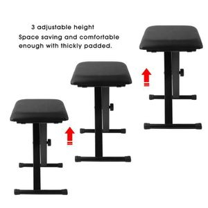 tabouret piano reglable achat vente pas cher. Black Bedroom Furniture Sets. Home Design Ideas