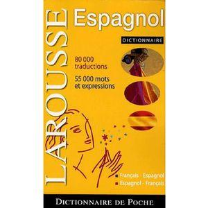 DICTIONNAIRES Poche Français-Espagnol
