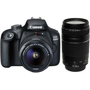 APPAREIL PHOTO RÉFLEX CANON EOS 4000D 18 Mpx + Objectif EF-S 18-55 III +