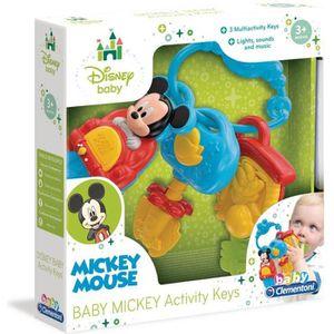 FIGURINE - PERSONNAGE Clés d'activité Clementoni Disney Baby Mickey Mous