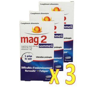 STRESS - SOMMEIL Mag 2 sommeil Difficultés d'endormissement, nervos
