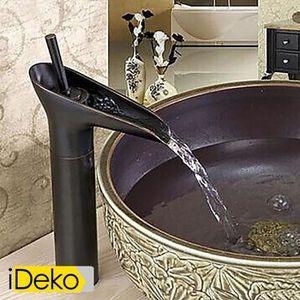 Dolity Pommeau de douche /à levier avec tuyau pour lavabo