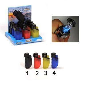 003 Briquet Chalumeau Flamme JET Electronique Rechargeable Mod3 Vert