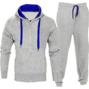 SURVÊTEMENT Hommes Pantalons extensibles Manteau à capuche Ves