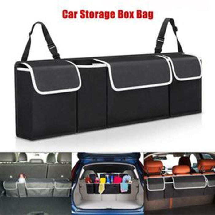 Boîte de rangement pour sac de rangement pour coffre de voiture
