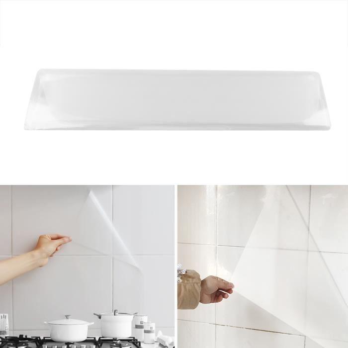 Autocollants Papier Peint Cuisine Imperméable Imperméable Imperméable Résistant À Haute Température Transparent Ecologique (Lo
