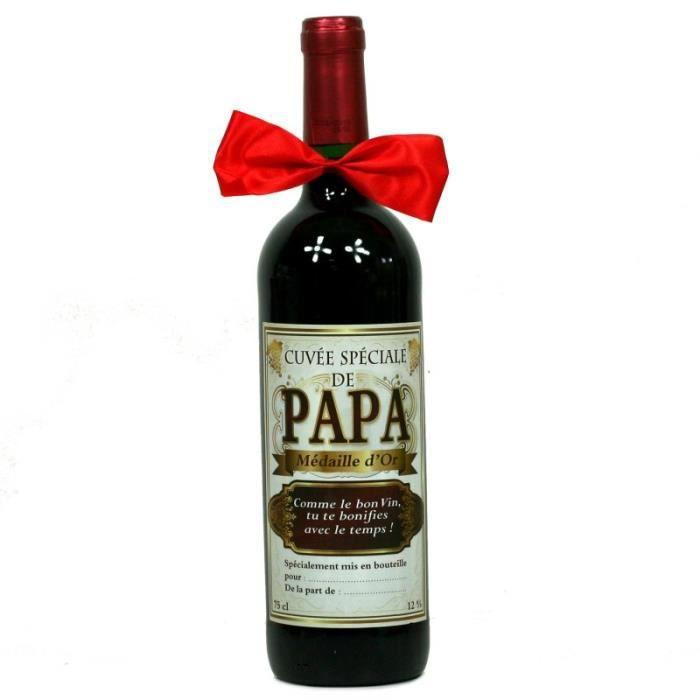 Bouteille de Vin - Cuvée Spéciale de Papa