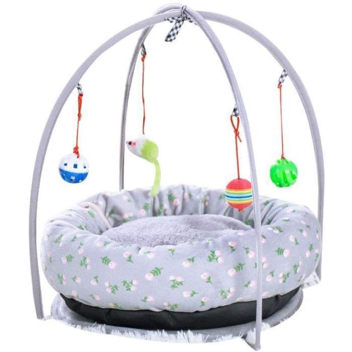 MISLD Pet Tent Pet Houses Pet Teepee Cat nid Portable Portable Pet Tent lit for Chien for Chat Chiot for Voyage activité 147037