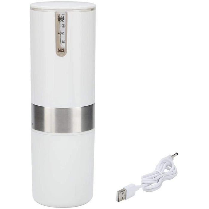 Zwindy Machine à Expresso Portable, Machine à café électrique entièrement Automatique Blanche, Mini Machine à Capsules de café po89